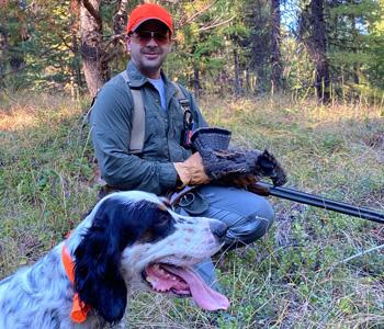 Montana grouse hunting, grouse hunting, upland hunting, Montana hunting lodge
