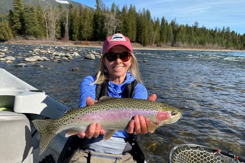 fly fishing, guided fly fishing, fly fishing lodge, Montana fly fishing lodge, Kootenai River fly fishing lodge